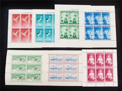 nystamps British New Zealand Stamp # B52 // B66 Mint OG NH $46
