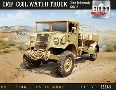 MIRROR MODELS 35165 CMP C60L Chevy Water Truck in 1:35