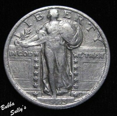 1923 Standing Liberty Quarter <> EXTREMELY FINE