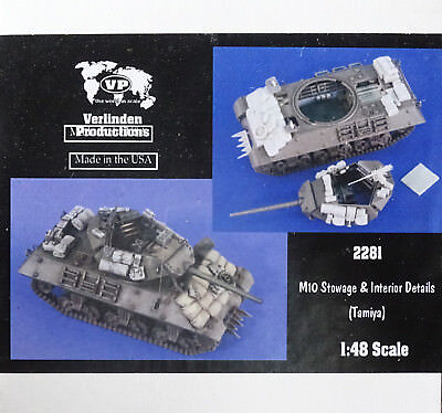 VERLINDEN PRODUCTIONS #2281 Stowage & Interior Details for Tamiya M10 in 1:48