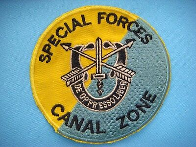 "VIETNAM WAR PATCH US 8th SPECIAL FORCES Grp AIRBORNE "" CANAL ZONE"""