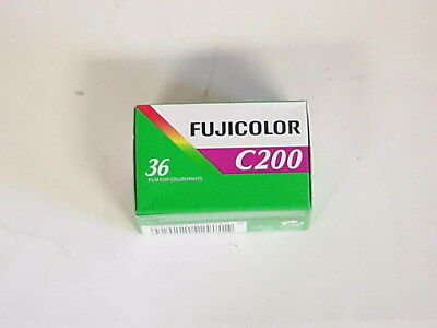 Fujicolor C200 Color Print Film, 5 Rolls-36 Exposures,