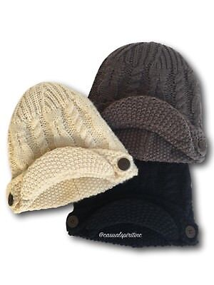 eb72e93c231 New  30 womens Columbia Good Medicine Beanie newsboy cap winter cable knit  hat