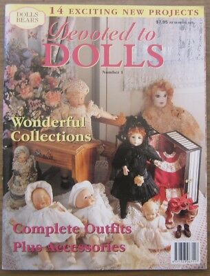 Australian Dolls Bears and Collectables Devoted To Dolls Magazine Number 1