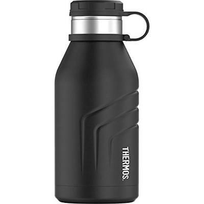 Thermos Element 5 Vacuum Insulated 32oz Beverage Bottle with Screw Top Lid,Black