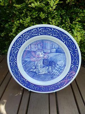 Rorstrand Mors dag 1975 Limited Edition Collectors Plate Sweden