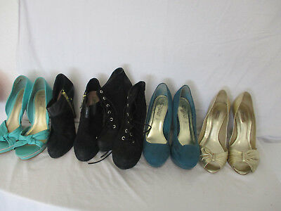 Job Lot Of Shoes And Boots Size 6 x 5 Pairs - Dune - Platform & Ankle Boots