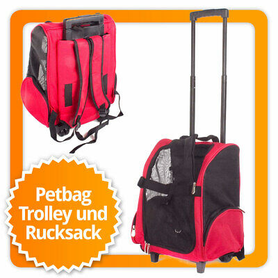Hundetrolley Transport für Hunde Trolley & Rucksack!!