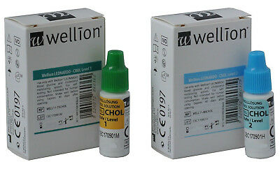 Cholesterol Control Solution - Only For Wellion Leonardo Meter