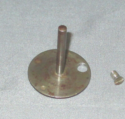 Antique Wheeler & Wilson No 9 Treadle Sewing Machine Spool Pin Oil Cover Plate