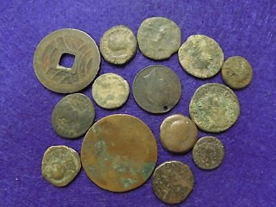 1 lot Old/Ancient coins- as pictured