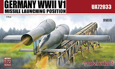 MODELCOLLECT UA72033 WWII German V1 Missile Launching Position in 1:72