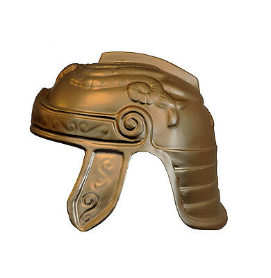 Single Roman Trojan Warrior Soldier Costume Helmet Plastic Accessory (1)