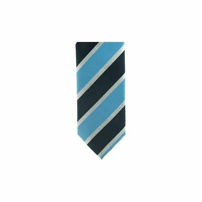 Showquest Lurex Unisex Accessory Tie - Navy/pale Blue/silver All Sizes