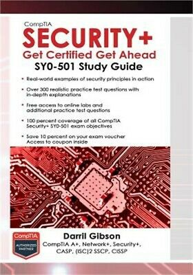 Textbooks education books picclick comptia security get certified get ahead sy0 501 study guide paperback or sof fandeluxe Choice Image