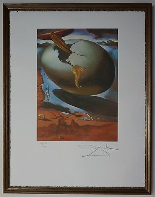 Salvador Dali 'Allegory of an American' Signed Lithograph Lim. 2000 pcs.