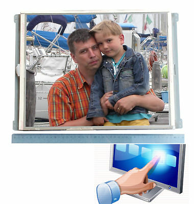 """WALLMONTAGE 43 cm 17"""" TFT WITH TOUCHSCREEN DISPLAY S170E1-T03 WIN XP VISTA 7 #"""