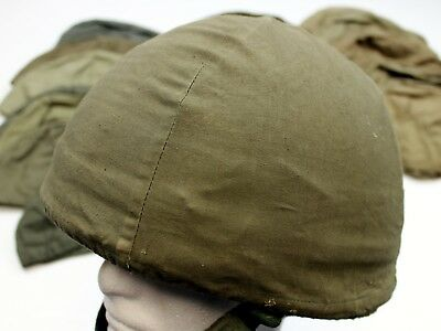 Genuine French Armed Forces F1 Helmet Cover In Olive Green