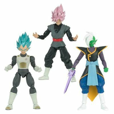Dragonball Super Legacy Figure - Series 4 Set of 3 (Zamasu, Vegeta, Goku Black)