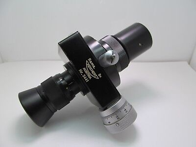Reichert Filar Micrometer Eyepiece w/ 30mm Adapter Microscope Accessory Optic NR