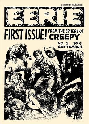 Eerie #1 Ashcan Magazine Photocopy, 24 Pages
