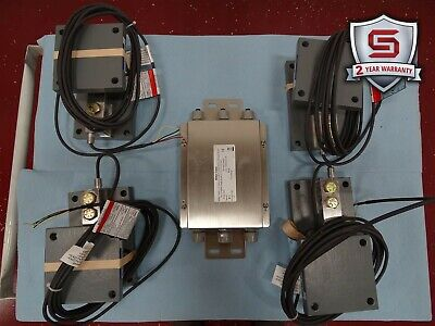 Mettler Toledo 0958 Flexmount Scale Weigh Module w/Load Cells 0745A(4) NEW