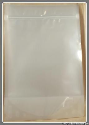 "300 PBFY Clear 9 x 13.5"" 2lb 5.4mil Industrial Bags Open Top Reclosable"