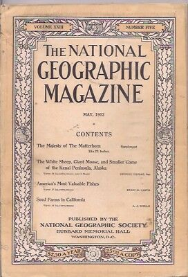 national geographic-MAY 1912-AMERICA'S MOST VALUABLE FISHES.