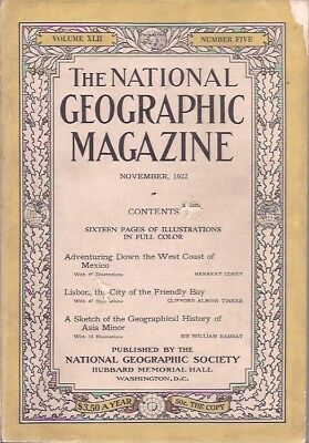 national geographic-NOV 1922-A SKETCH OF THE GEOGRAPHICAL HISTORY OF ASIA MINOR.