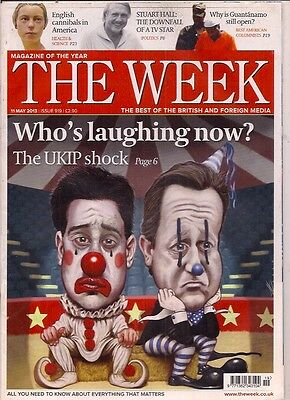 THE WEEK-11 may 2013-WHO'S LAUGHING NOW?