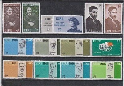Ireland Eire. Easter Rising / Patriots Signatories, 30 MNH Stamps.