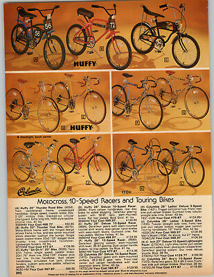 1978 Paper Ad Huffy Bicycle Thunder Road Trail Bike Mono Shock