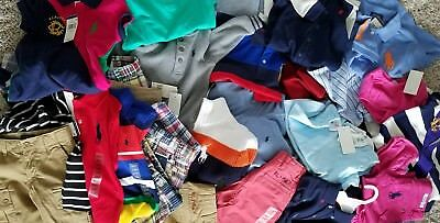 New Wholesale Clothing Lot kids baby toddler PoloRalph Lauren 65% off R.V $475