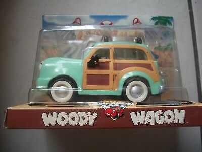The Chevron Cars WOODY WAGON new in box FREE shipping