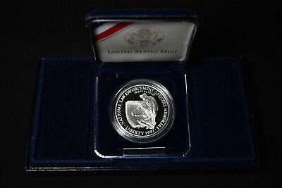 1997-P United States National Law Enforcement Memorial Proof Silver Dollar