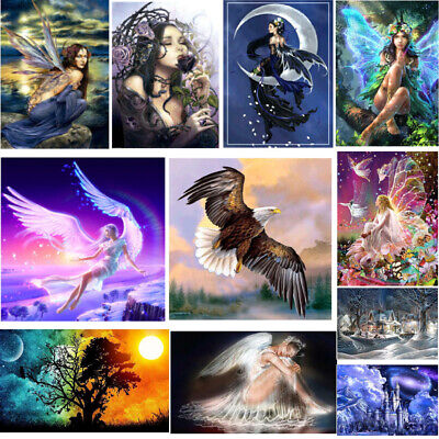 Fairy Girl 5D DIY Diamond Painting Embroidery Cross Crafts Stitch Kit Home Decor