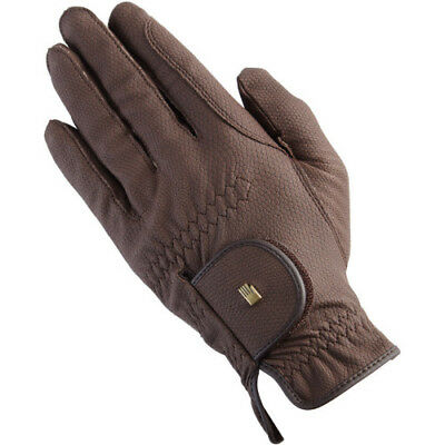 Roeckl Chester Unisex Gloves Competition Glove - Brown All Sizes