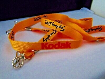 "Kodak *Lanyard (Makers of Camera's & Film) Sydney 2000 Olympic Games ""Ex Shop"""