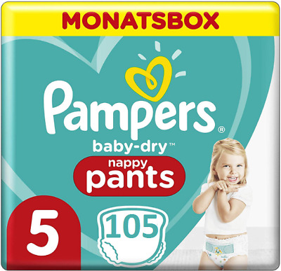 Pampers Baby Dry Pants Windeln, Gr. 6 (ab 15 kg), Jumbo Plus, Pack 1 x 58 St
