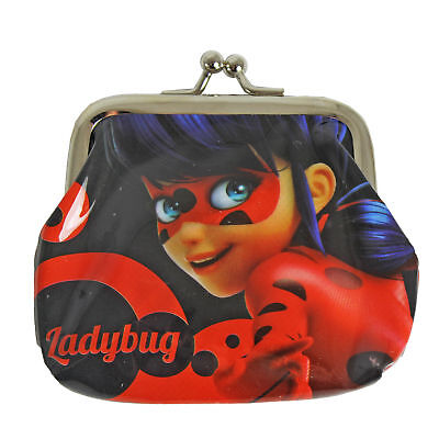 Children's Character PVC Metal Clasp Coin Purse - Miraculous