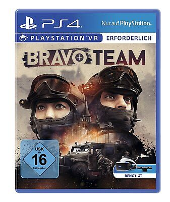 Bravo Team (Vr-Only) PS4 PLAYSTATION 4 New+Boxed