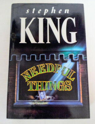 Needful Things by Stephen King (Hardback, 1991) UK First Edition