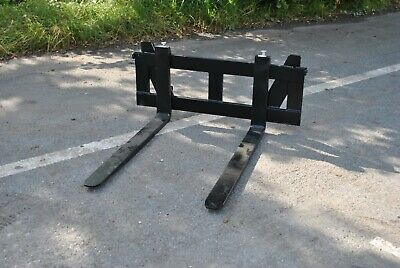 Pallet Fork Frame And Forks For A No 8 / Euro Loader