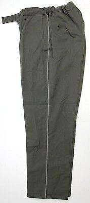 Ddr East German Army Officer Trousers Grey With White Piping