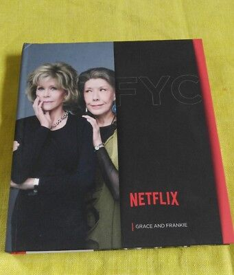 Grace And Frankie~Fyc Netflix Pressbook 4 Dvd Set~Complete Season One~