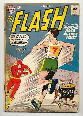 Flash #107 (1959) G/VG (3.0) ~ Carmine Infantino ~ Joe Giella~ DC Comics