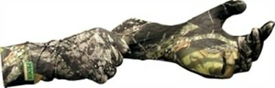 Primos 6395 Stretch-Fit Gloves Extended Cuff Mossy Oak Breakup
