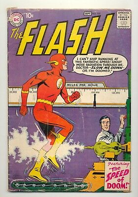 Flash #108 (1959) VG- (3.5) Grodd Trilogy Ends ~ Carmine Infantino ~ DC Comics