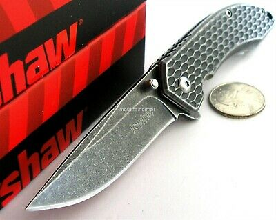 Kershaw Starter Small BlackWash Flipper Speed Assisted Opening Knife BOX 1316S
