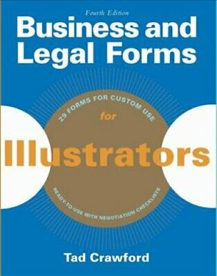 Business and Legal Forms for Illustrators by Tad Crawford 9781621534884